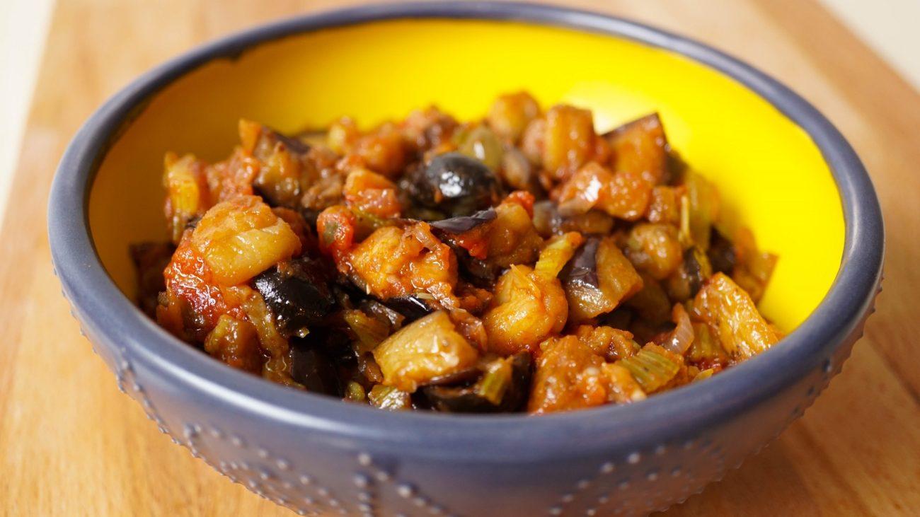Caponata – Cicilian Aubergine Stew