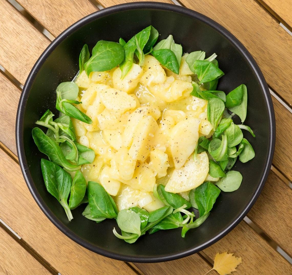 Венский картофельный салат (Wiener Erdäpfelsalat)