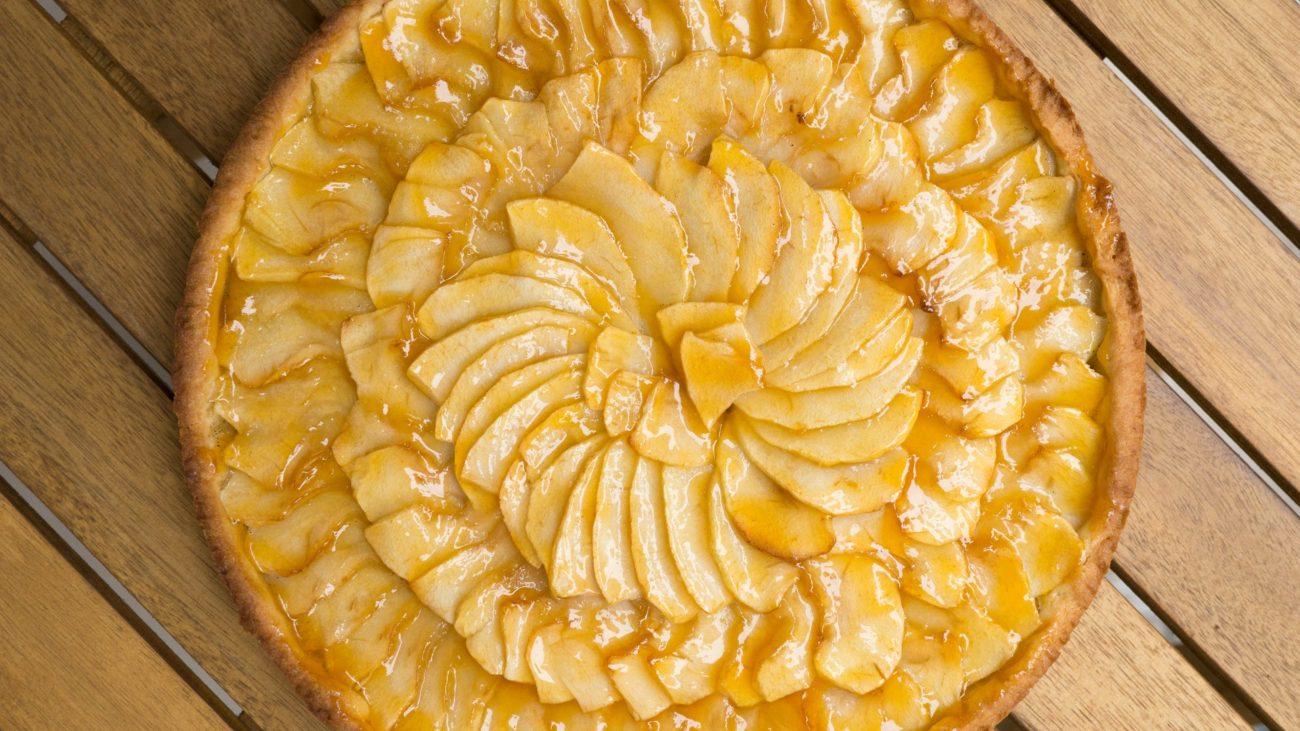 Французский яблочный тарт (Tarte aux pommes)