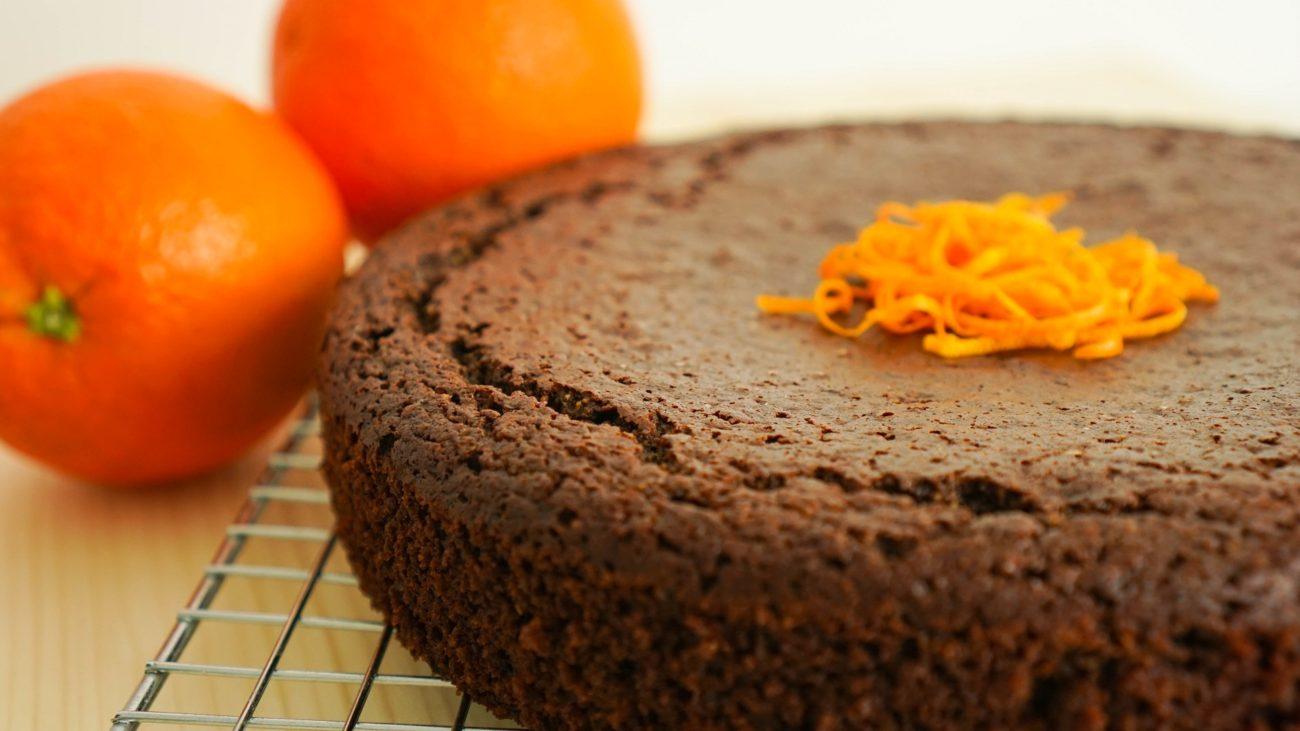 Chocolate Orange Cake (gluten-free, dairy-free)