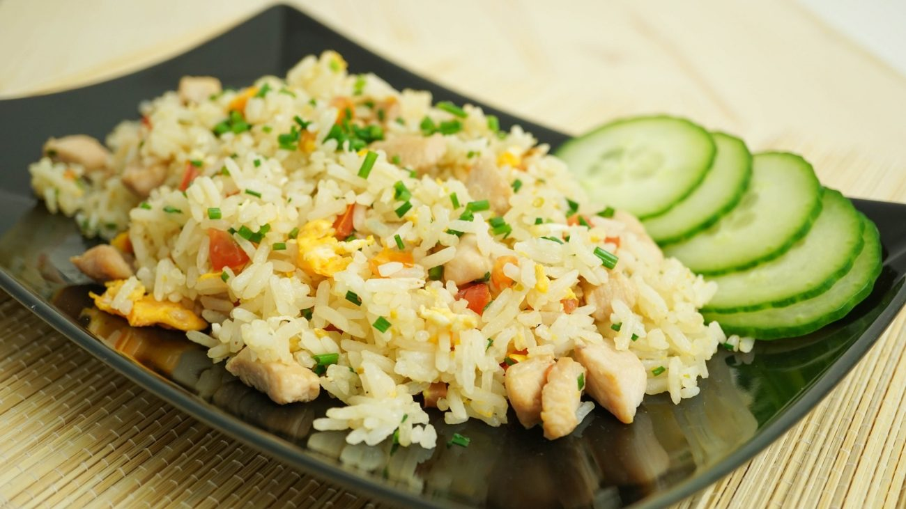 Khao Pad with Chicken – Thai Fried Rice