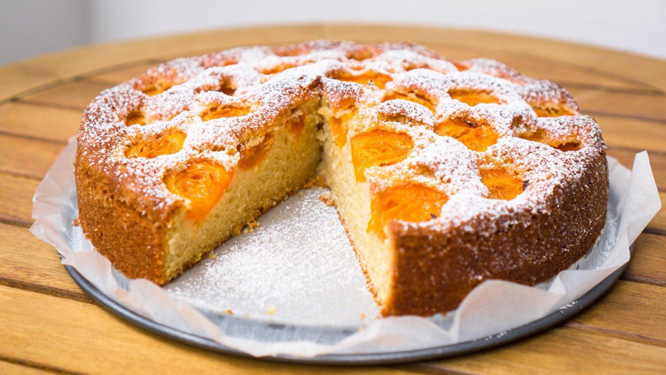 Австрийский пирог с абрикосами (Marillenkuchen)