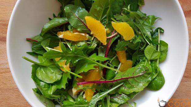 Апельсиновая заправка для салатов (удивительная!)