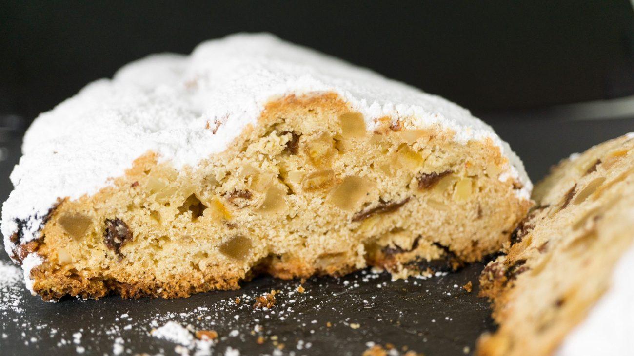 Штоллен — немецкий рождественский пирог