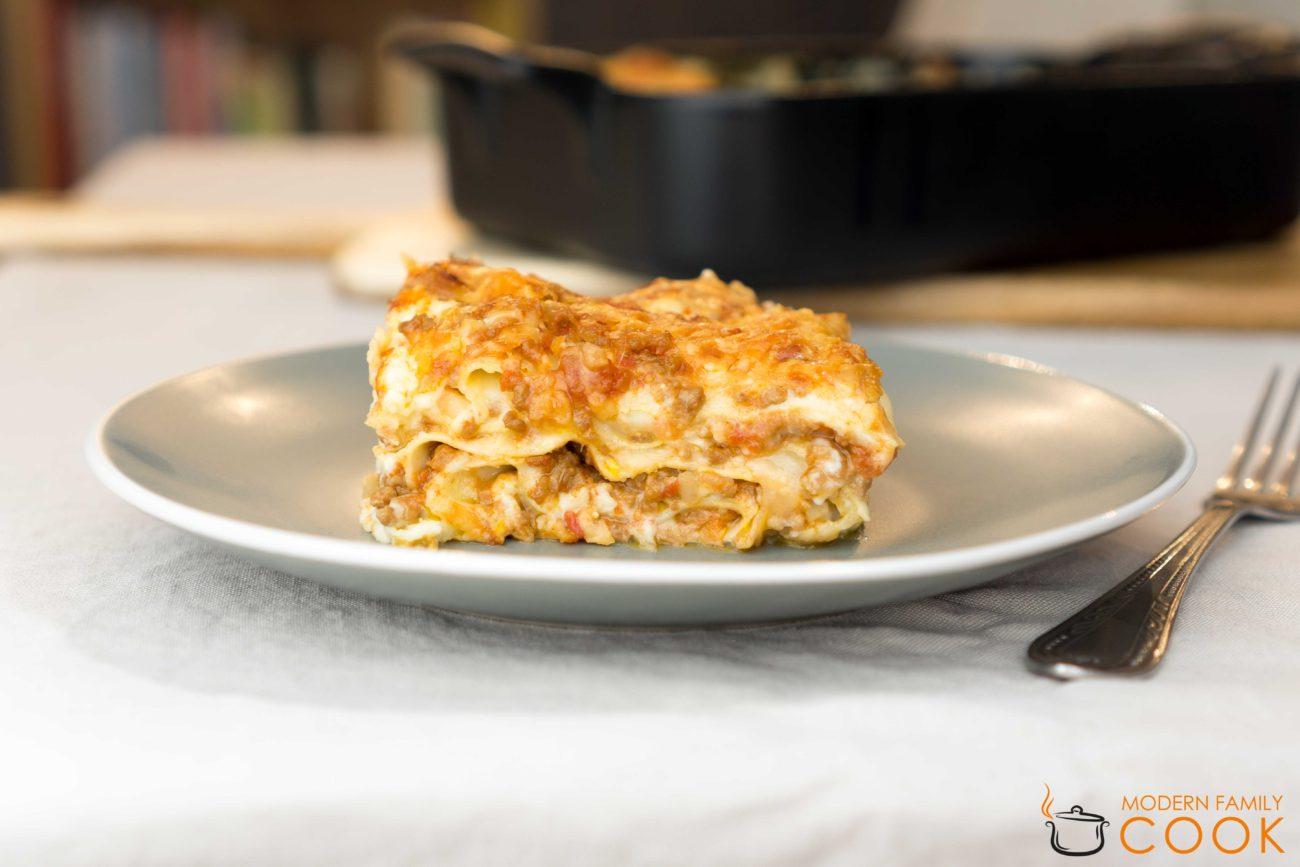 Классическая лазанья болоньезе / Lasagne alla Bolognese