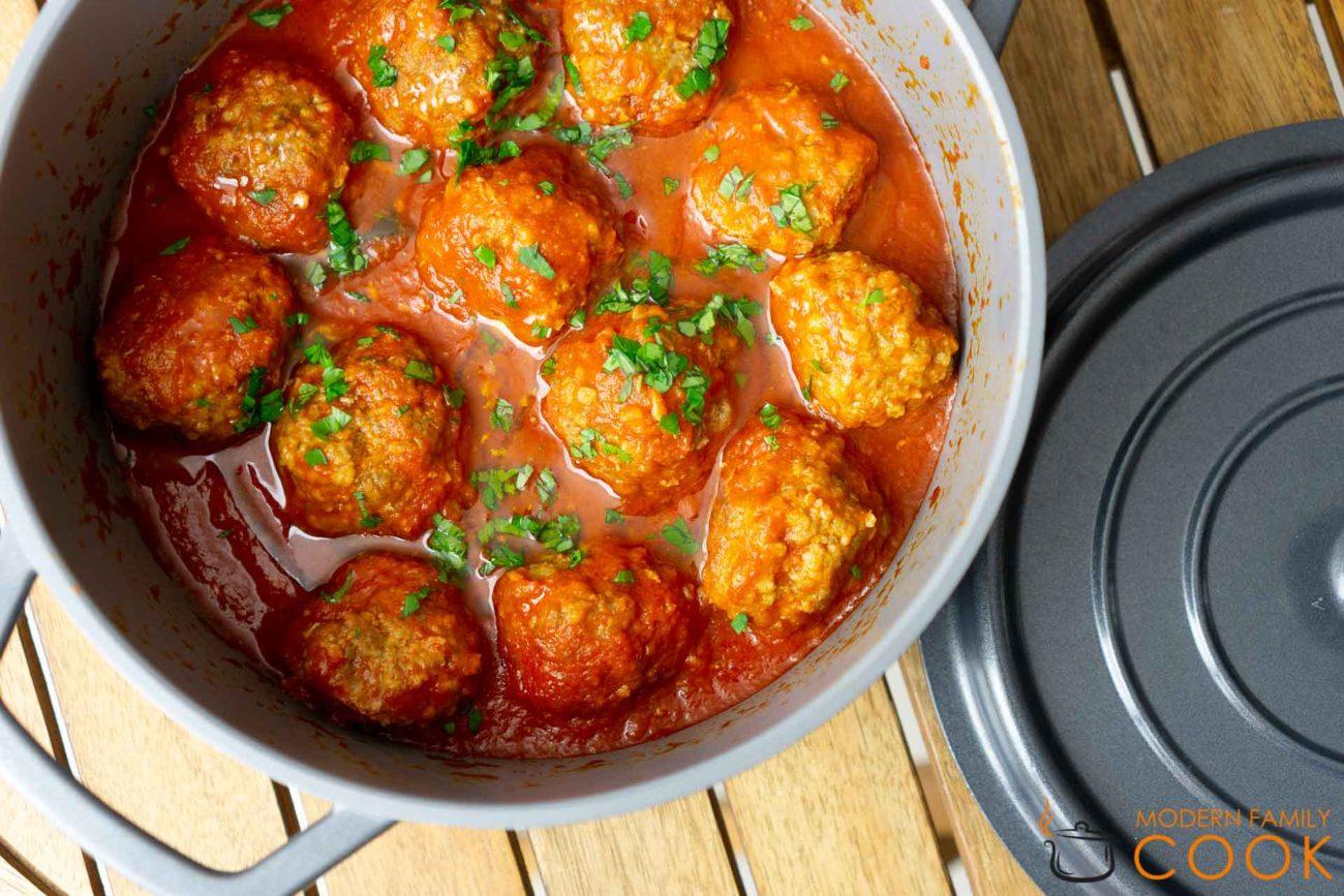 Фрикадельки в томатном соусе/Polpette al sugo
