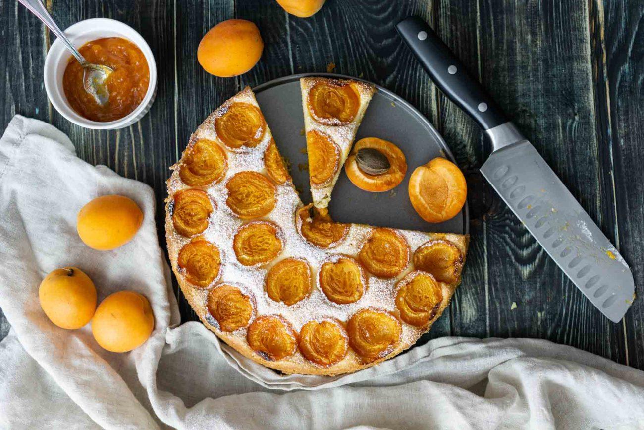 Австрийский абрикосовый пирог/Marillenkuchen (gluten-free)