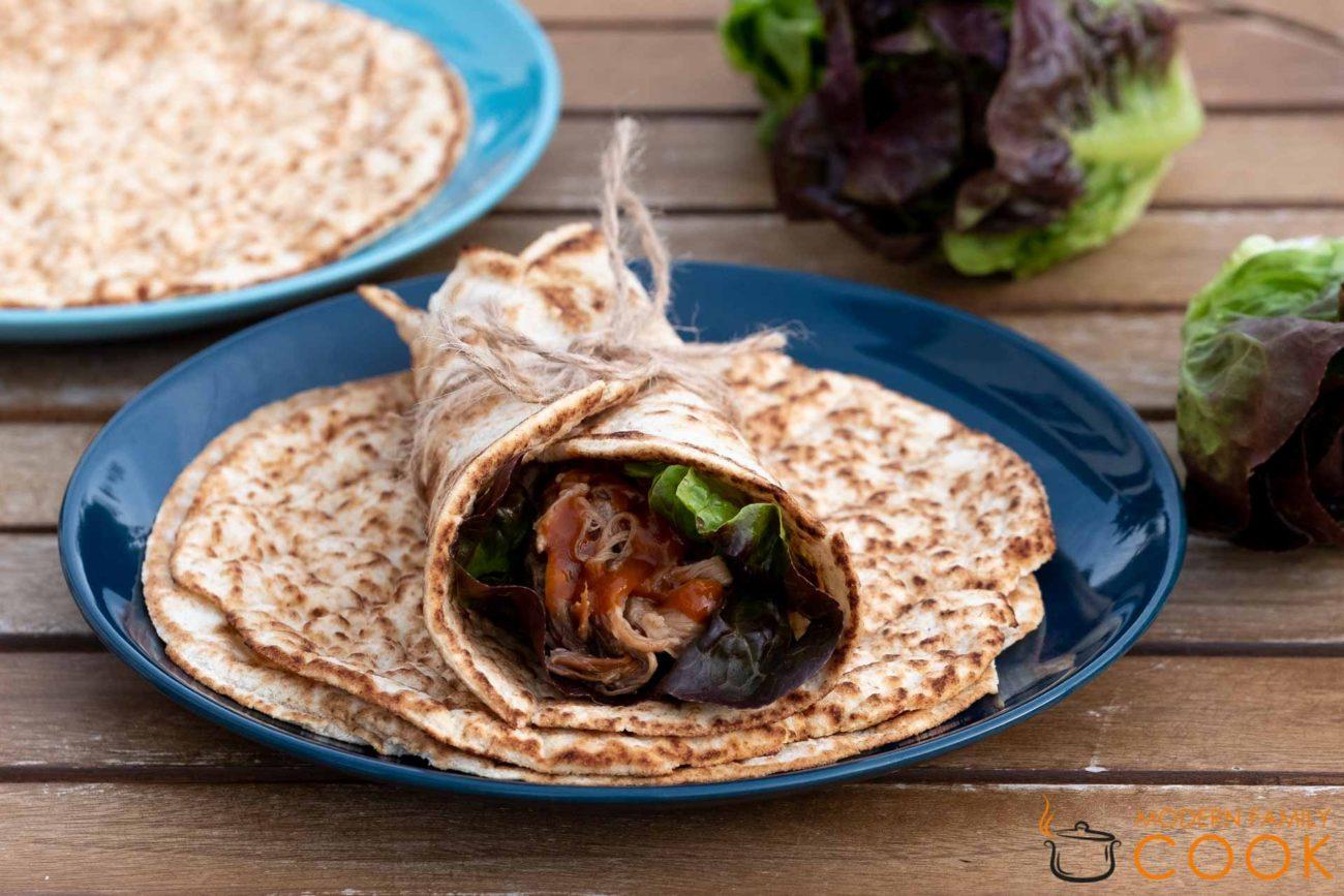 Тортилья из кокосовой муки (vegan, gluten-free)