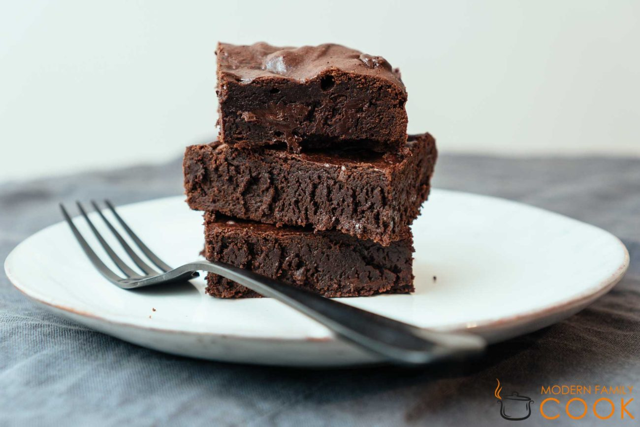 Брауни с мукой тефа/Teff Fudgy Brownies (gluten-free)