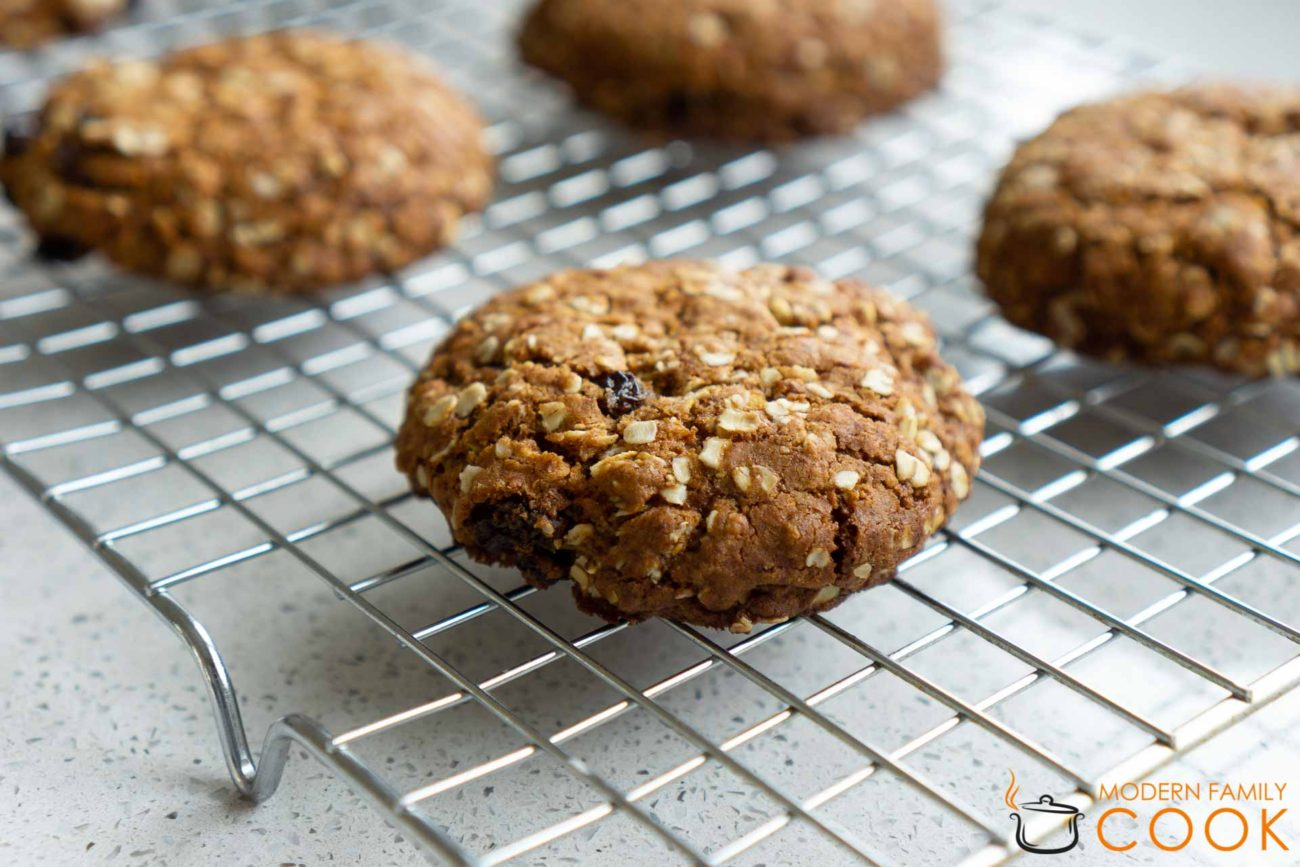 Овсяное печенье (gluten-free, dairy-free)