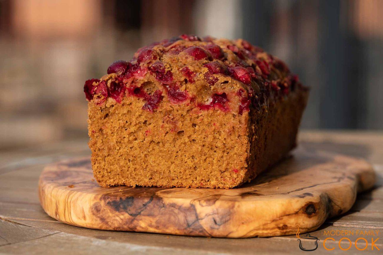 Клюквенно-апельсиновый пирог/Cranberry Orange Bread (gluten-free)