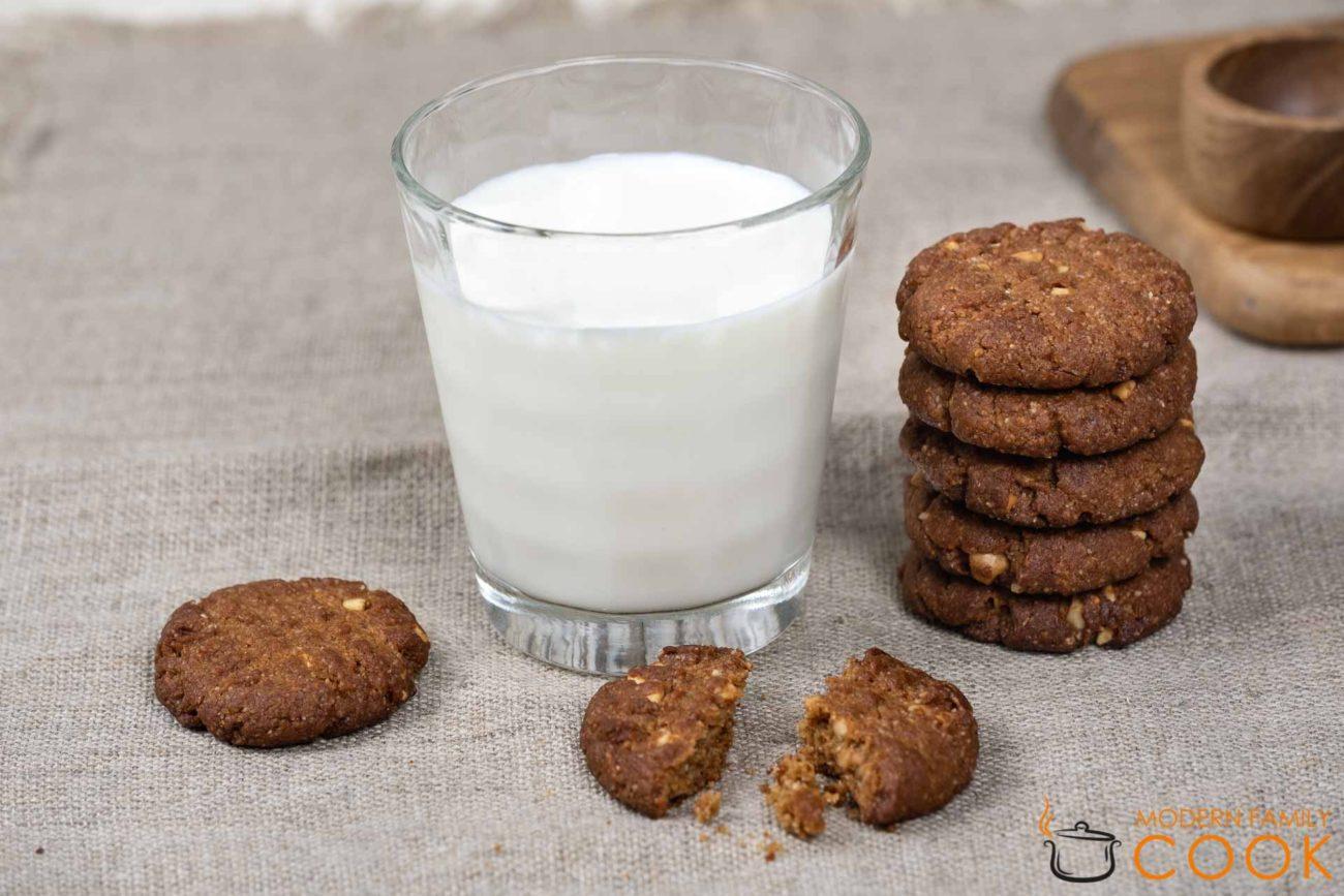 Печенье с арахисовым маслом (gluten-free, dairy-free)