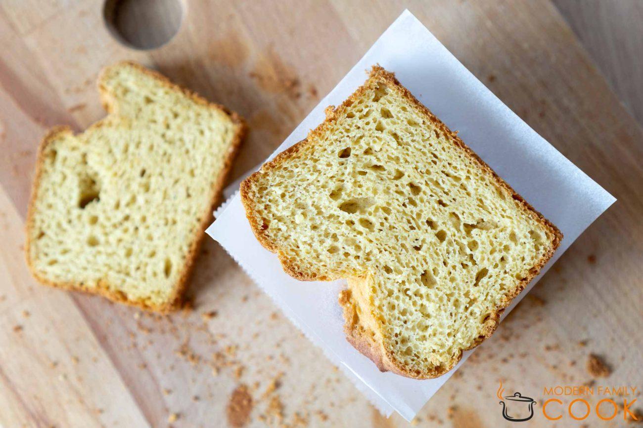 Пшенный хлеб (gluten-free, dairy-free)