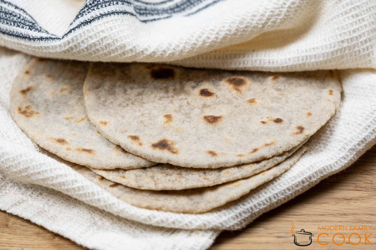 Тортилья (gluten-free, dairy-free)