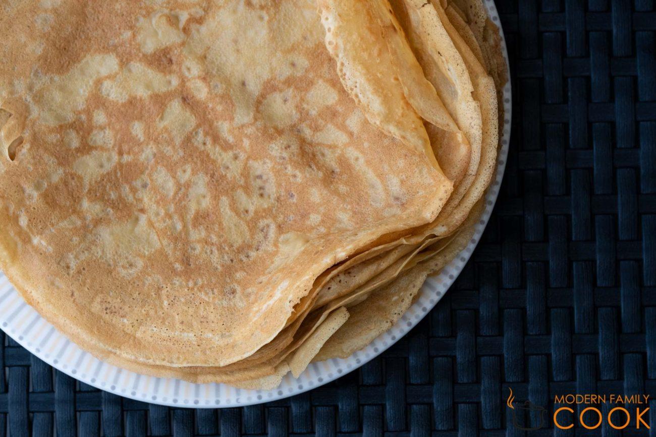 Блинчики из муки маниока/кассавы (gluten-free, dairy-free, paleo)