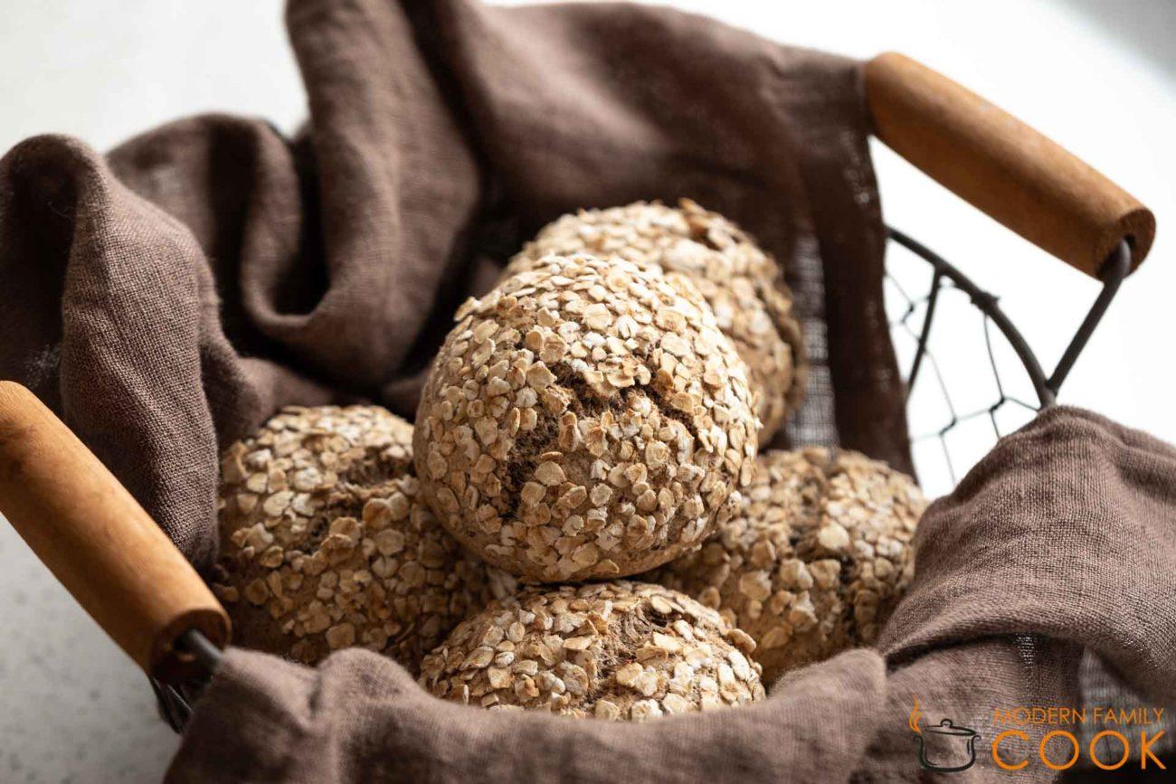 Цельнозерновые булочки с льняным семенем (gluten-free, gairy-free)