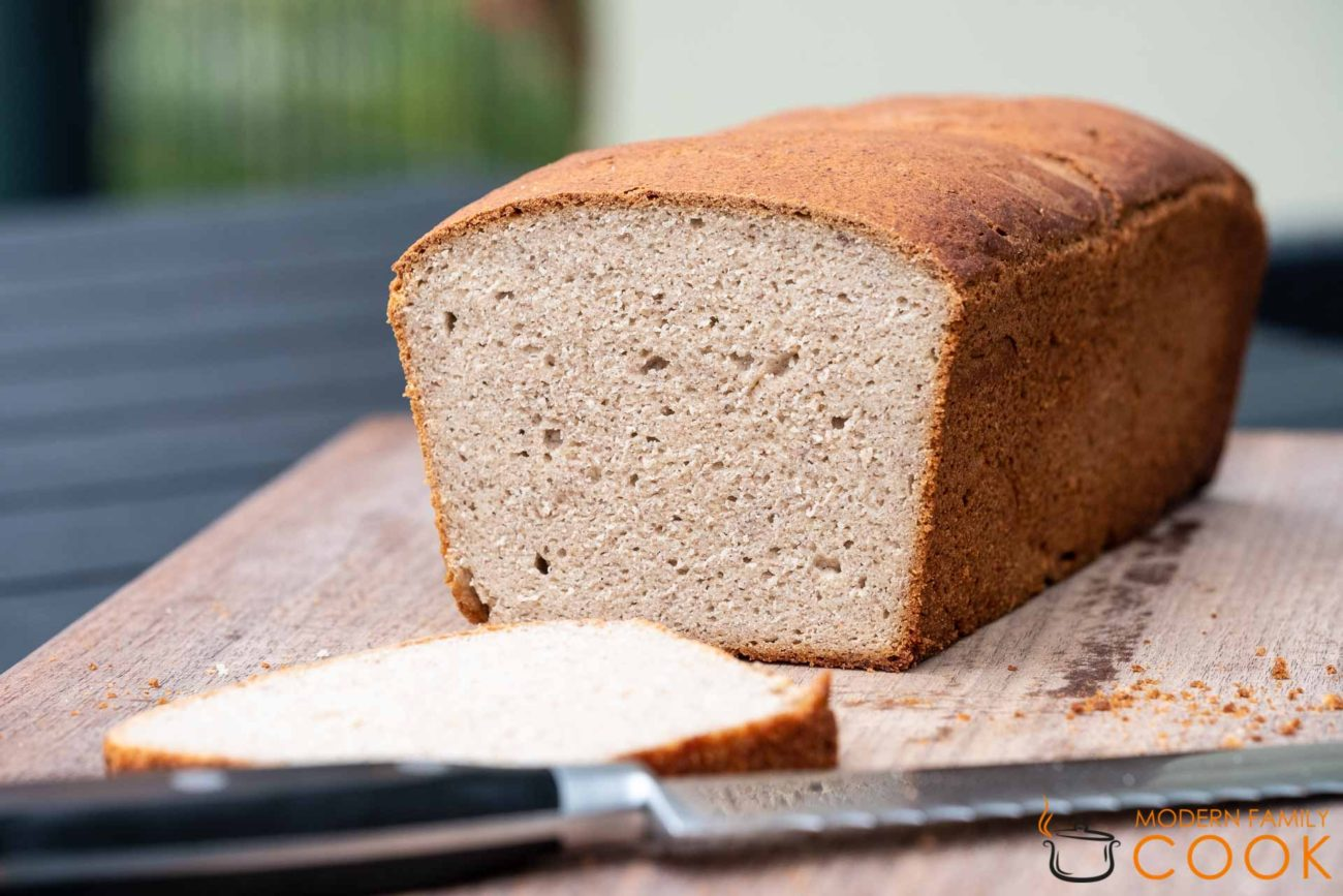 Chickpea Flour White Bread (Gluten-free, Dairy-free)