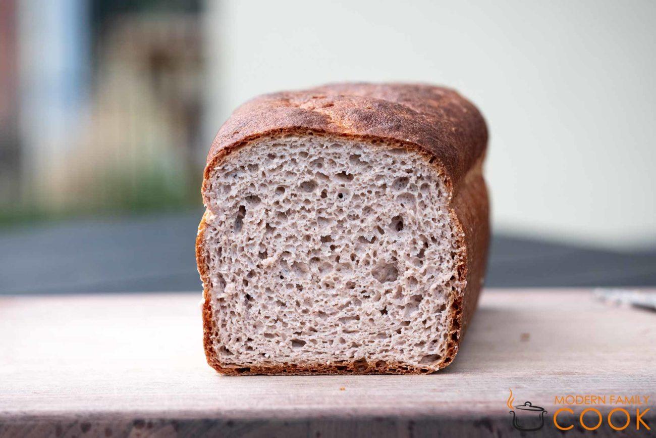 Buckwheat and Quinoa Bread (Gluten-free, Dairy-free)
