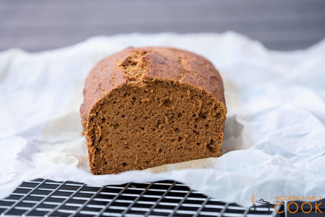 Тыквенно-гречневый пирог/Buckwheat pumpkin bread к завтраку (gluten-free, dairy-free)