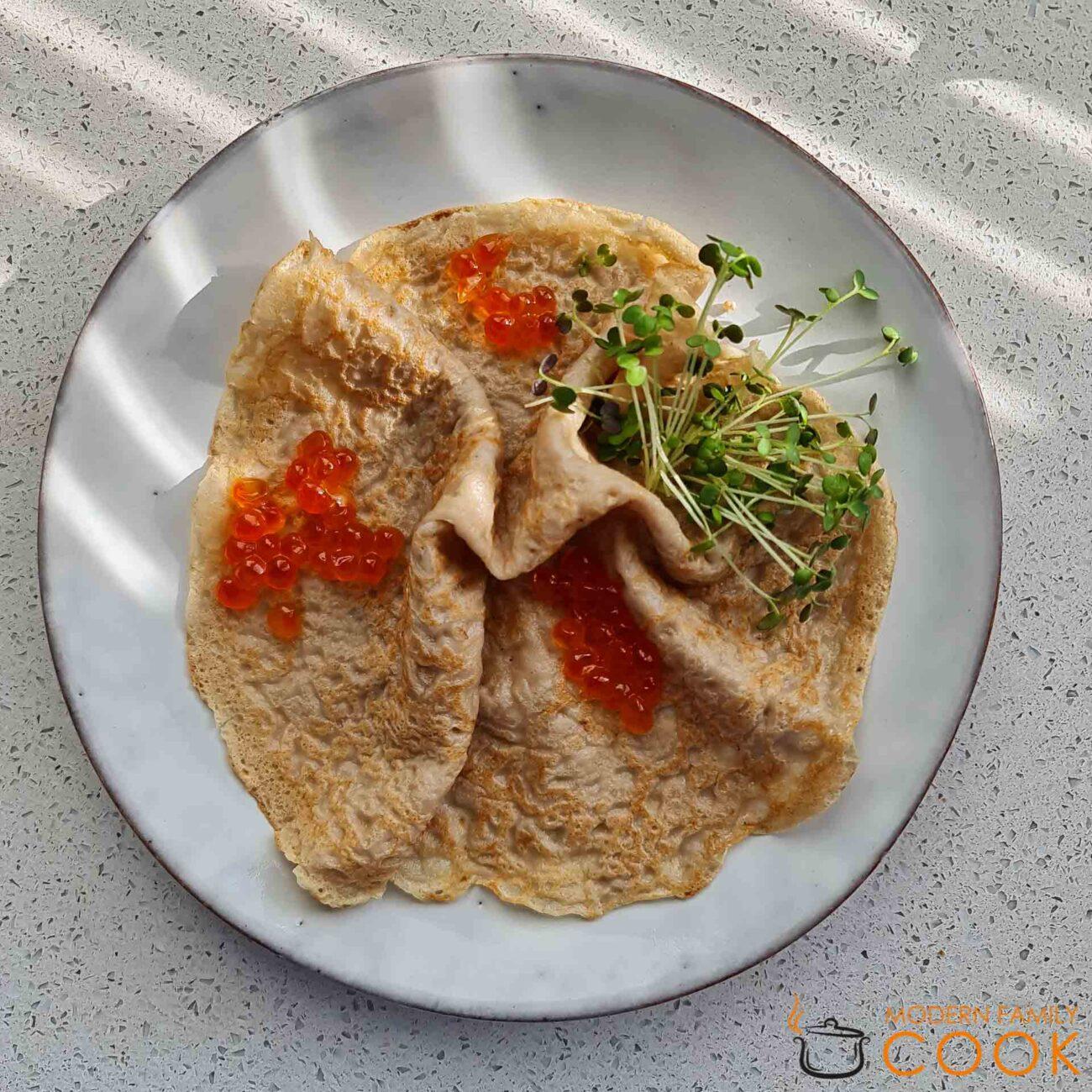 Блинчики из гречки и амаранта (gluten-free, dairy-free)