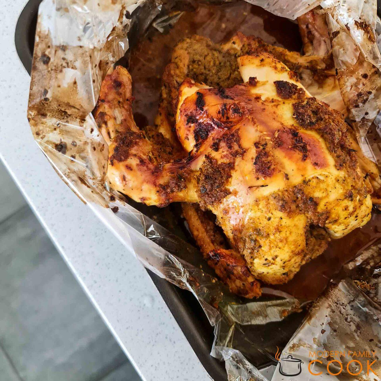 Курица в карибском маринаде джерк (Jerk)